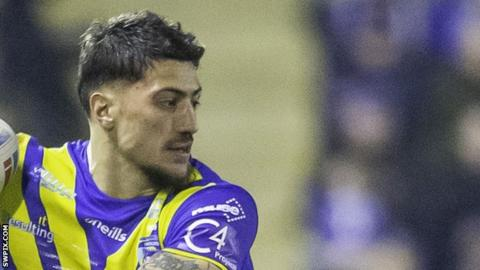 Anthony Gelling stood down by Warrington amid off-field investigation
