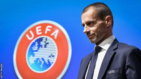 VAR is a 'mess' but there is 'no way back' -UEFA president