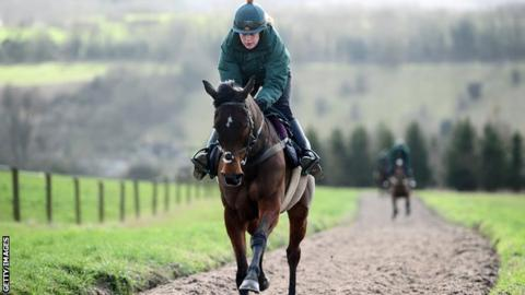 Blaklion is the bookies favourite to win the Grand National