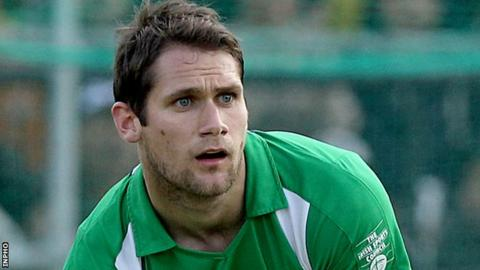 Irish international Paul Gleghorne was on target for Lisnagarvey against Glenanne