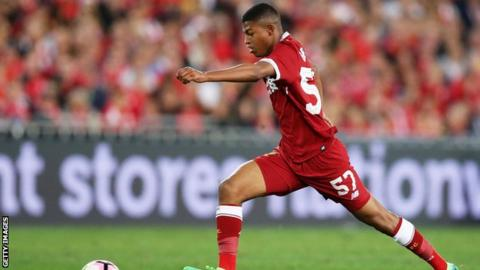 Rhian Brewster: Liverpool report alleged racial abuse of striker during youth game