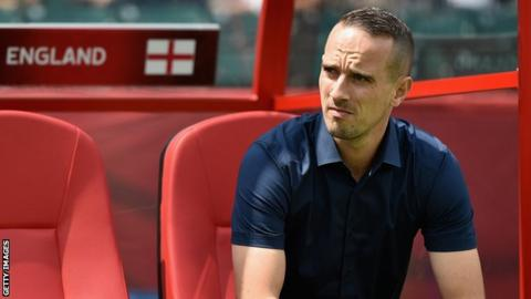 England coach Mark Sampson