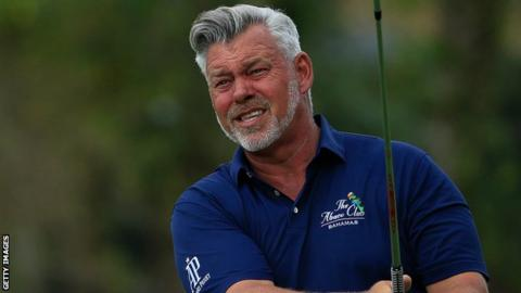 Darren Clarke has moved up to 10th in the Champions Tour money list
