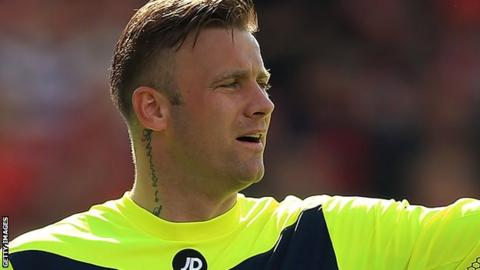 Bournemouth goalkeeper Artur Boruc