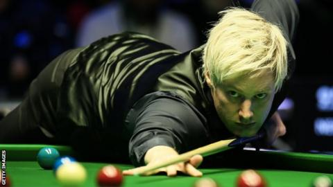 World number four Neil Robertson
