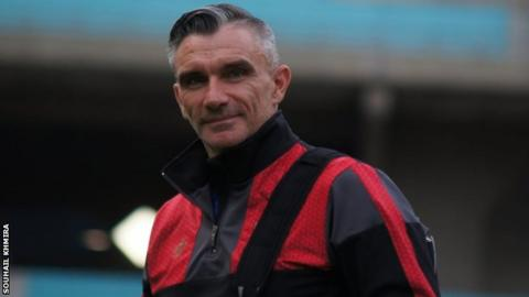 Al Ahly coach Patrice Carteron