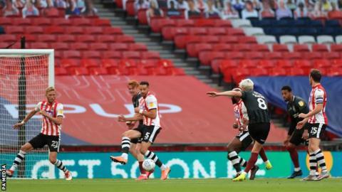 Ryan Watson scores for Northampton