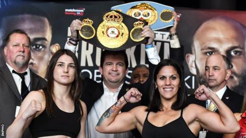 Katie Taylor Unifies World Lightweight Titles