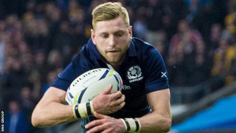 Finn Russell has been capped 19 times for Scotland