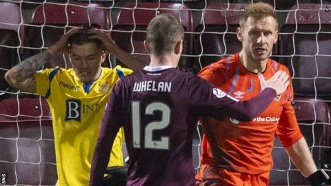 Glenn Whelan's final appearance was against St Johnstone on 14 December