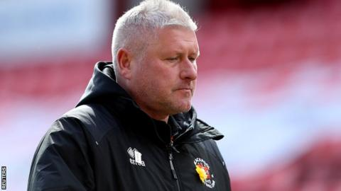McPhillips became Blackpool's permanent manager on 10 September