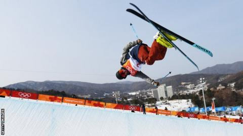 USA's David Wise Repeats as Gold Medalist in Men's Ski Halfpipe