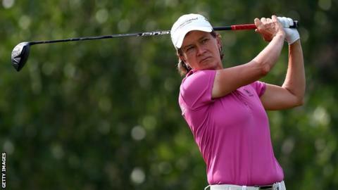 Catriona Matthew will lead Europe at Gleneagles