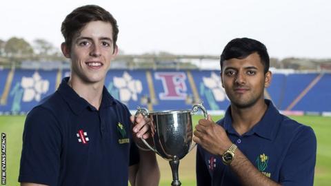 Roman Walker (left) and Prem Sisodiya