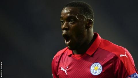Leicester City midfielder Jeff Schlupp was expected to be named in Ghana's squad for Gabon 2017