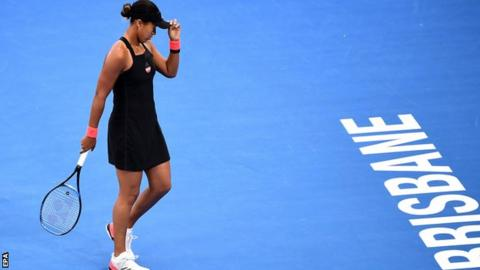 Frustrated Naomi Osaka withdraws from Sydney after a poor Brisbane match