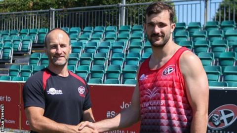 Gavin Cattle (left) and Jordan Payne