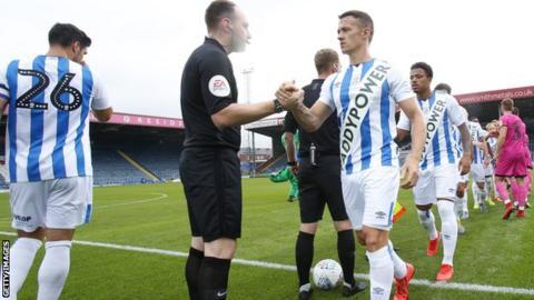 Huddersfield Town's kit