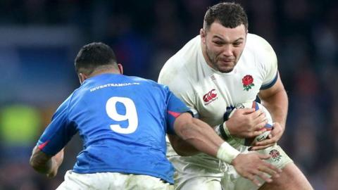 Wales v England: Ellis Genge will not change as he fills in for Mako Vunipola
