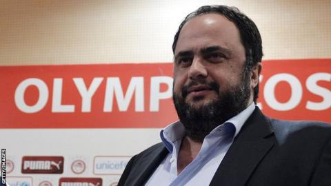 Olympiakos and Nottingham Forest owner Evangelos Marinakis