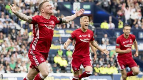 Jonny Hayes spent five years at Aberdeen before joining Celtic in 2017