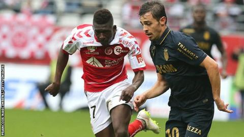 Reims' Malian defender Hamari Traore