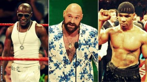 Fury follows a handful of big-name boxers into WWE