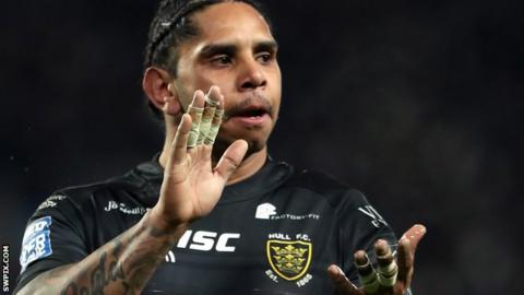 Hull FC half-back Albert Kelly