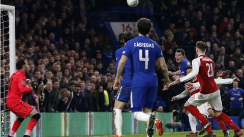 Chelsea & Arsenal goalless after cagey first leg