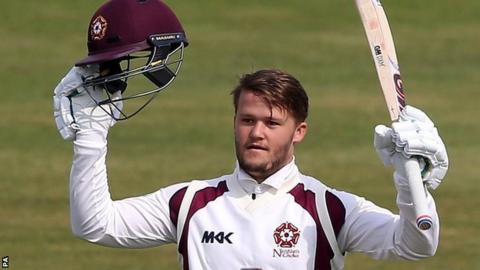 Ben Duckett has so far hit 38 fours and two sixes in his 367-ball eight and a half hour stay at the crease