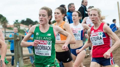 Fionnuala McCormack helped Ireland to European Cross Country bronze in France