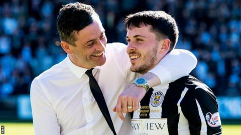 Jack Ross and Lewis Morgan