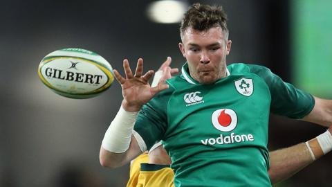 Ireland captain Peter O'Mahony