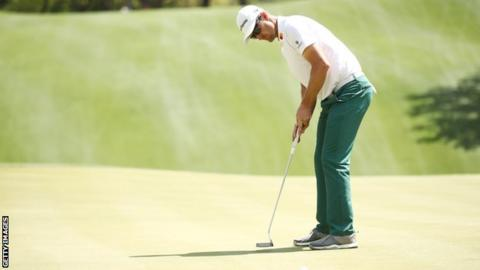 Justin Rose on day two at the WGC Match Play