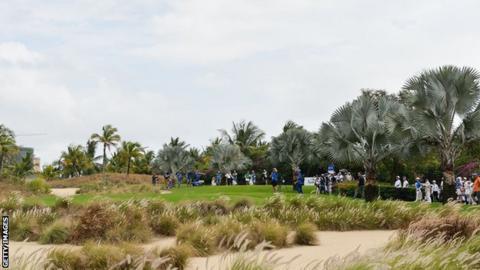 Blue Bay golf event