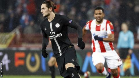 Is Adrien Rabiot set for Barcelona?