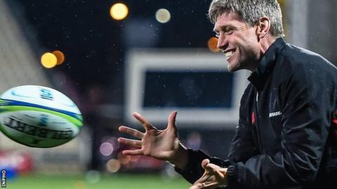Ronan O'Gara told Munster last month that he wasn't interested in a backroom role with his native province