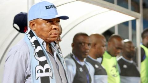 Former Botswana coach David Bright
