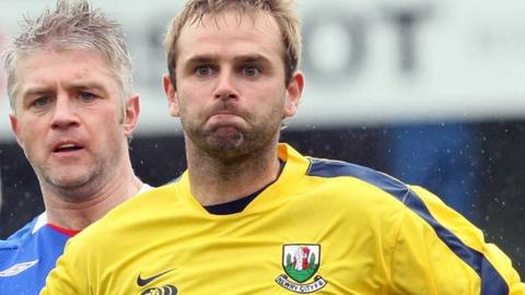 Feeney played in the Irish Premiership for Newry before going into management