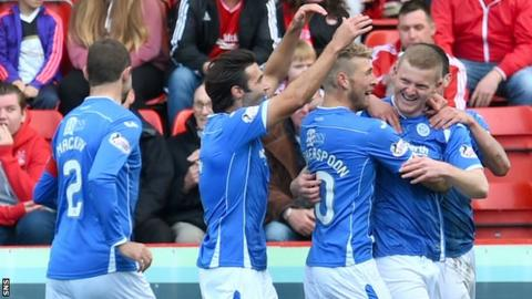 St Johnstone won emphatically at Pittodrie
