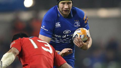 Kevin McLaughlin made 115 appearances for Leinster