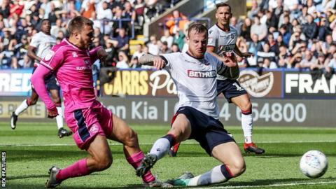 Luke Freeman gave the visitors a first-half lead