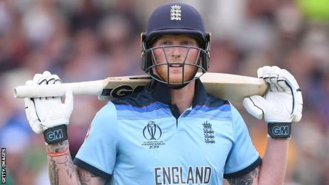 England's Ben Stokes looks disappointed