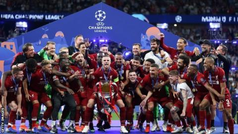 Liverpool win Champions League