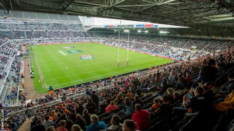 St James' Park at the Magic Weekend