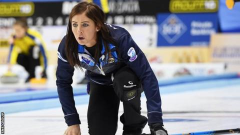 Great Britains Eve Muirhead pushing through hip pain to