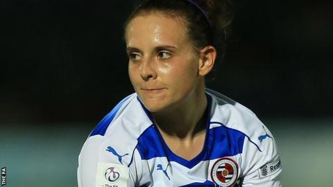 Reading Women midfielder Lauren Bruton