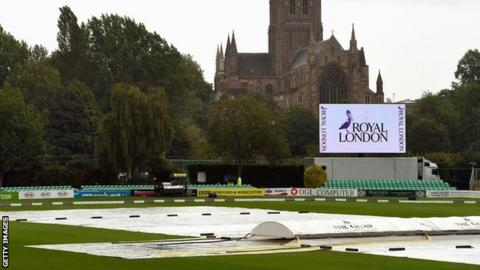 The covers are on at New Road