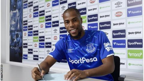 Djibril Sidibe has become the sixth new arrival at Everton