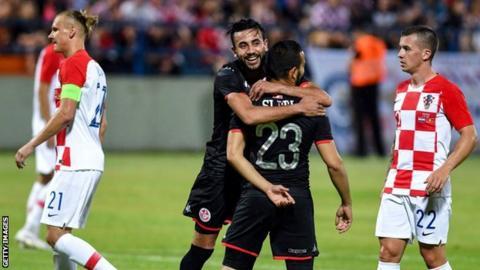 Tunisia v Croatia
